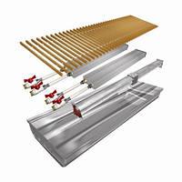 Внутрипольные конвекторы Polvax КV.D.PREMIUM.300.1000.125 с вентилятором для влажных помещений
