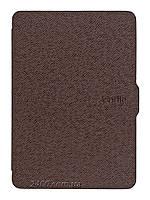 """Обложка - чехол для электронной книги Amazon Kindle Paperwhite 1, 2 E-reader 6"""" полиуретановая Коричневая, фото 1"""