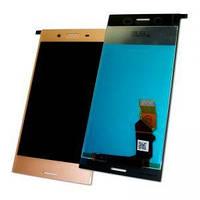 Дисплей Sony G8141 G8142 Xperia XZ Premium  с тачскрином розовый Оригинал