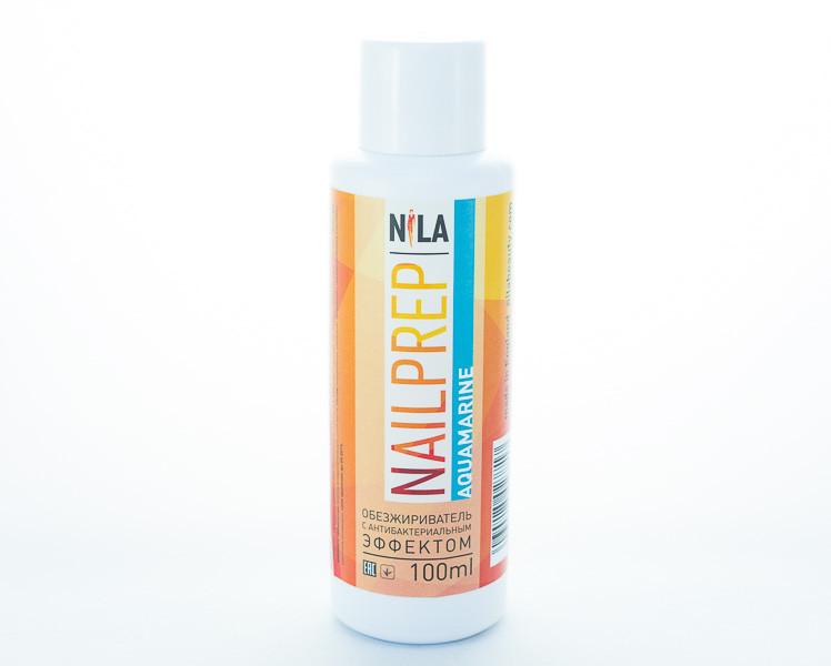 Nila Nail Prep - знежирювачах з антибактеріальним ефектом, 100 мл