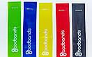 Ленты сопротивления набор 5шт LOOP BANDS FI-6318 (размер: 600x50мм, толщина-0,35мм, 0,5мм, 0,7мм,1мм, фото 6