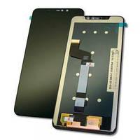 Дисплей Xiaomi Redmi Note 6 Pro  с тачскрином черный Оригинал