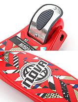 Трехколесный Самокат Nitro Nova - Красный / Складывающиеся ручка руля, фото 2