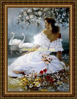 Картина Наречена 400х600мм №510 в багетній рамі