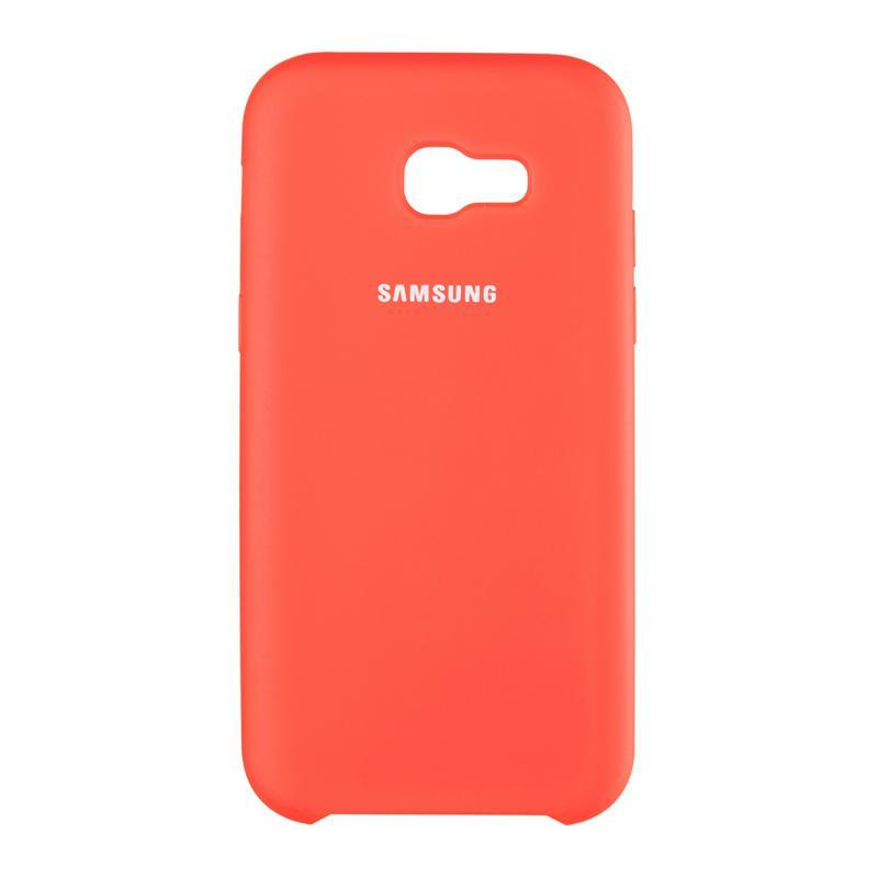 Чехол Original Silicone Cover Soft-Touch Samsung G965 (S9 Plus) Red