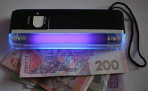 Кишеньковий детектор валют УФ