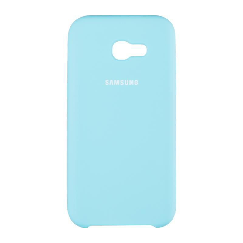 Чехол Original Silicone Cover Soft-Touch Samsung A605 (A6 Plus-2018) Ocean Mint