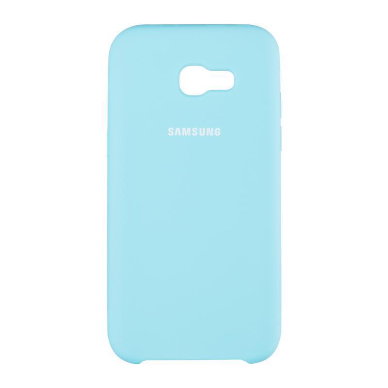 Чехол Original Silicone Cover Soft-Touch Samsung J400 (J4-2018) Ocean Mint