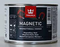 Краска Магнит, magnetic tikkurila, для внутренних работ 0,5л