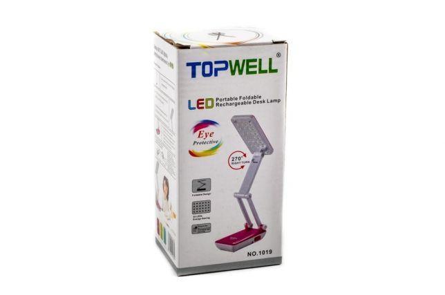 Лампа настольная трансформер TopWell 1019 / 6686С