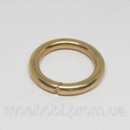 Кольца для сумок (20мм) золото,  4341, фото 2