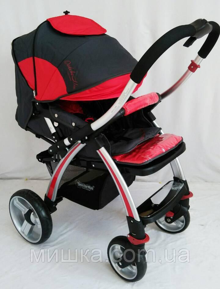 "Детская прогулочная коляска ""DolcheMio"" SH270 red"