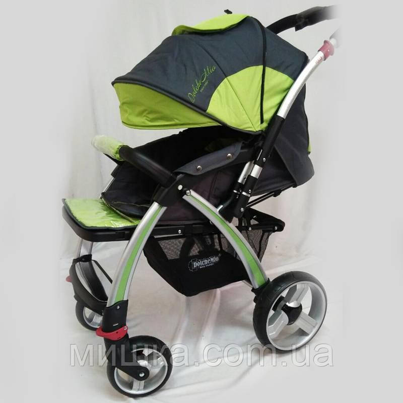 "Детская прогулочная коляска ""DolcheMio"" SH270 light green"
