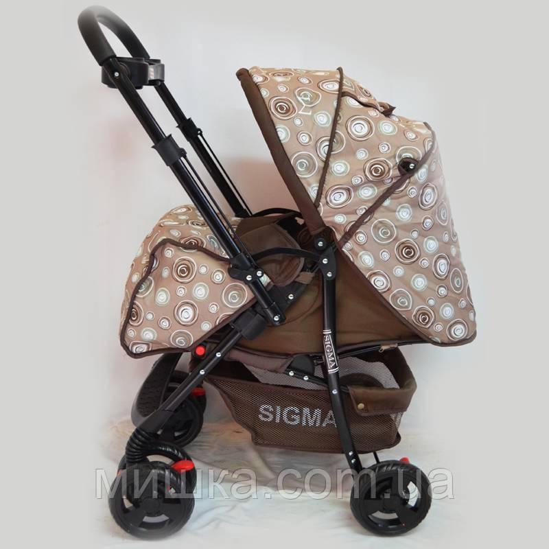 Детская прогулочная коляска Sigma K-118F