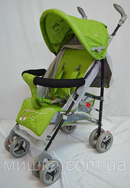 Дитяча прогулянкова коляска Sigma BYW-308 зелена