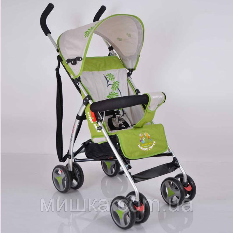 Детская прогулочная коляска Sigma BYW 302 Green