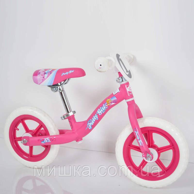 Стильний дитячий беговел B-3 Pink