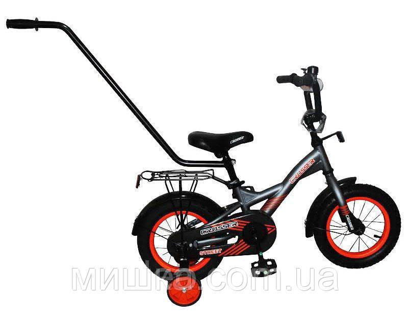 Детский велосипед двухколесный STREET CROSSER-7 12