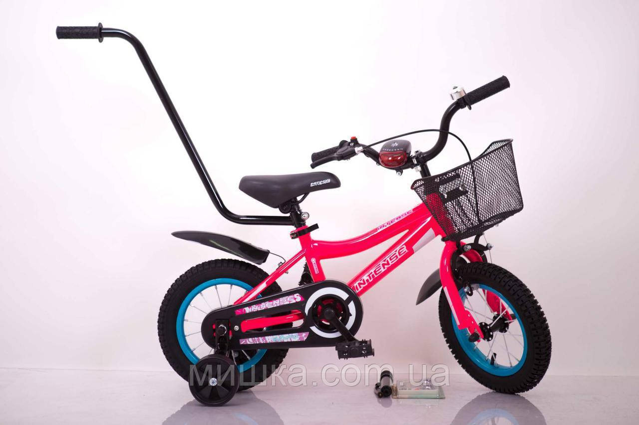 "Велосипед INTENSE 12"" N-200 Розовый-Неон Sigma"