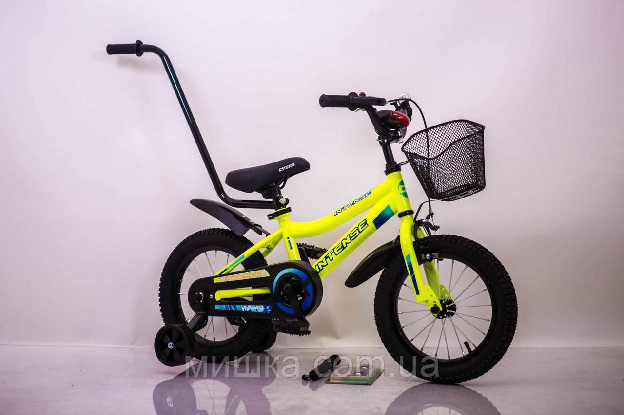 """Велосипед INTENSE 12"""" N-200 Салатовый-Неон Sigma"""
