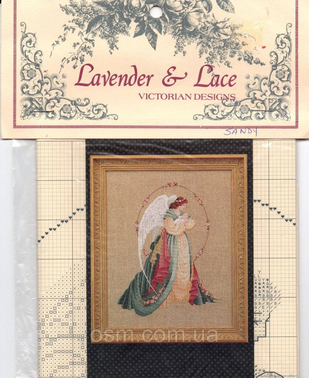 Схема для вишивки Guardian Angel Lavender & Lace
