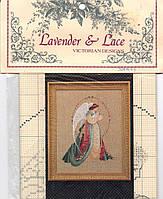 Схема для вышивки Guardian Angel Lavender & Lace