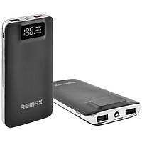 Зарядное устройство Power Bank REMAX 20000 mAh LED дисплей, фонарь/ Внешний аккумулятор Повер банк, батарея