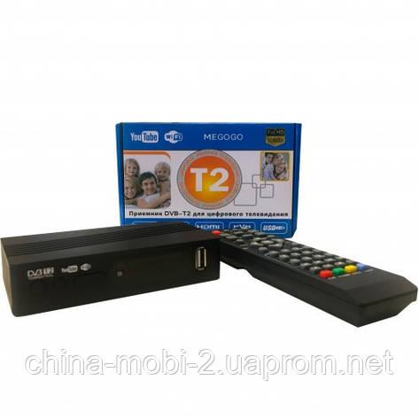 DVB-Т2 Terrestrial, TV тюнер Т2 Megogo приемник для цифрового ТВ, фото 2