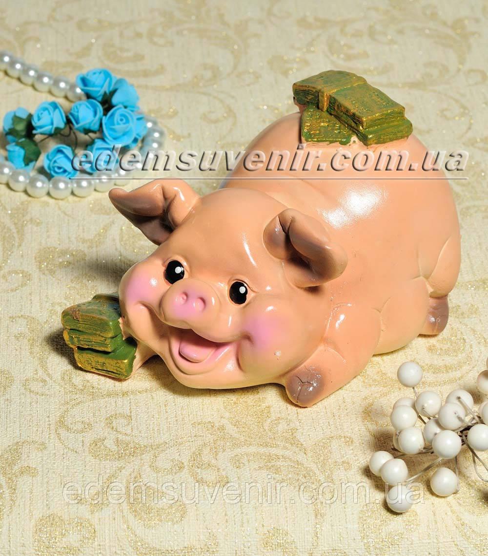 Копилка Свинка денежная
