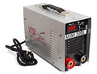 Сварочный инверторный аппарат ММА-300 mini VITA  в металлическом кейсе (SI-0001)