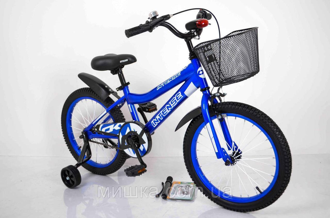 """Велосипед INTENSE 18"""" N-200 Синий Sigma"""
