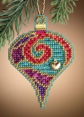 Набор для вышивки Mill Hill Garnet Spiral