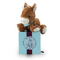 Мягкая игрушка Kaloo Les Amis Лошадка мокко 19 см в коробке K963144