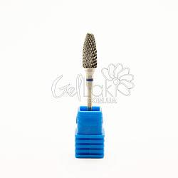 Насадка для фрезера твердосплавная (конус), синяя