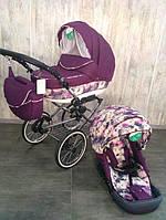 Универсальная многофукциональная детская коляска Adamex Katrina текстиль 2 в 1