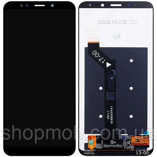 Дисплей с тачскрином для Xiaomi Redmi 5 Plus черный оргинал (китай) - ShopMob в Днепре