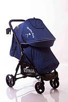Детская прогулочная коляска Quattro Porte QP-234 Blue