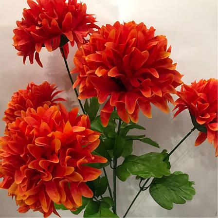 Искусственный букет хризантема., фото 2