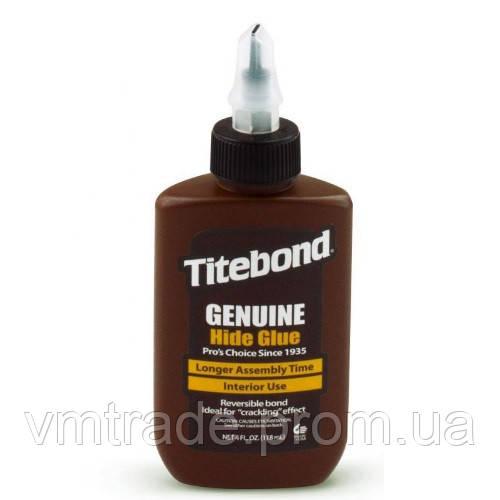 Клей для дерева мебельный, протеиновый (Titebond, GenuineHide Glue) 237 мл