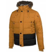 Куртка зимняя с капюшоном Joma INVICTUS оранжевая 100370.824