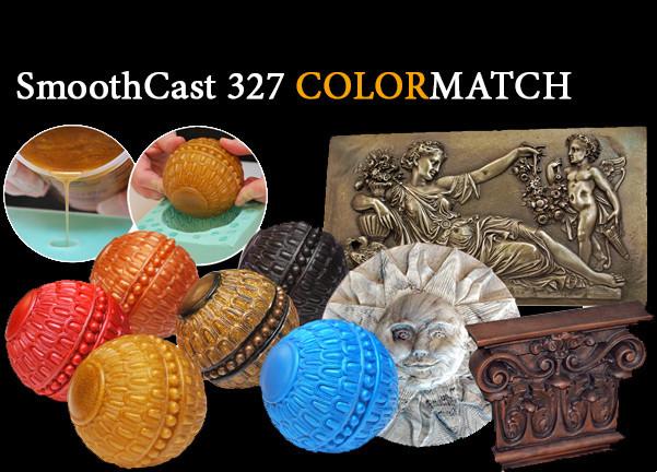 Полиуретан модельный прозрачный высокопрочный Smooth-Cast ® 326(к-т 0.93 кг), среднее время гелеобраз.