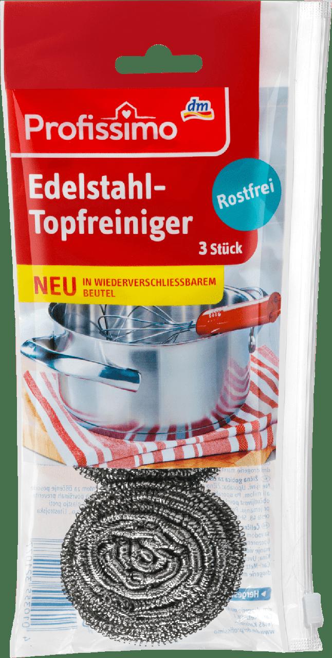 Металлические мочалки для кухни ProfissimoEdelstahl-Topfreiniger, 3 шт.