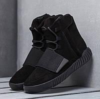 Кроссовки мужские Adidas Yeezy Boost High D2369 черные, фото 1