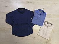 Рубашки на мальчика оптом, Glo-story, 110-160 см,  № BCS-6826, фото 1