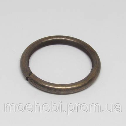 Кольца для сумок (26мм) антик,  4339, фото 2