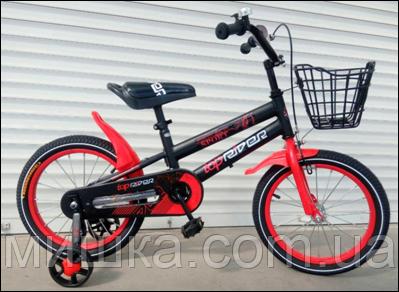 """Велосипед TopRider-01 20"""" красный  детский двухколесный"""