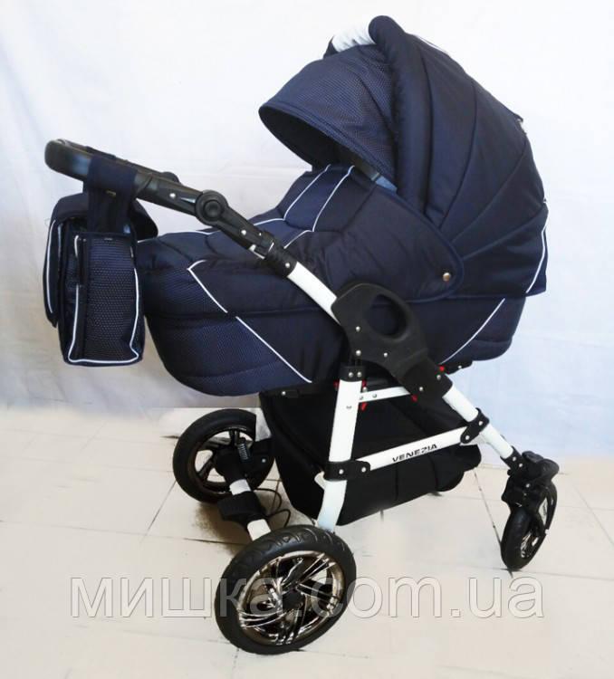 Детская коляска универсальная VENEZIA Dark blue