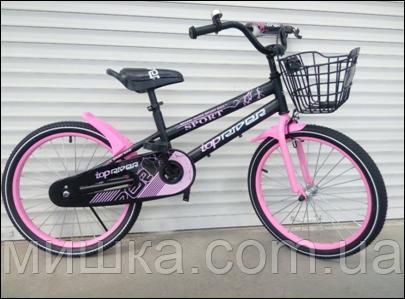 """Велосипед TopRider-01 12"""" розовый детский двухколесный"""