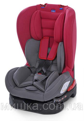 Детское автокресло M 2780-2-3 серо-красное