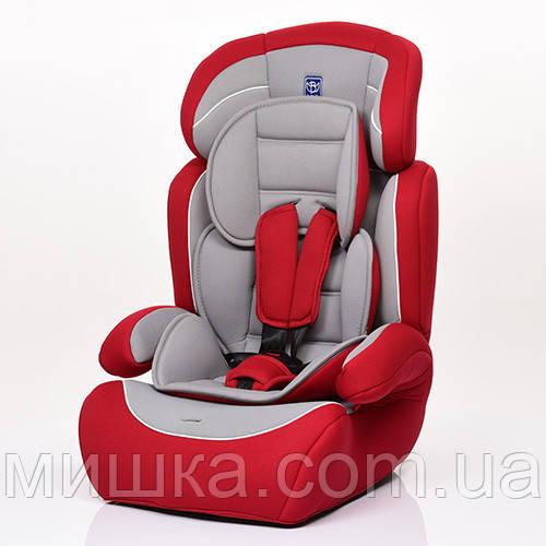 Детское автокресло M 3546-3 серо-красный